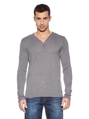 Cross Jeans Camiseta Casual (Humo)