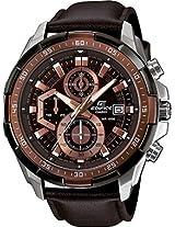 Casio Edifice Stopwatch Chronograph Brown Dial Men's Watch - EFR-539L-5AVUDF (EX194)