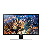 Samsung LU28E590DS/XL 28-inch UHD LED Monitor (Black/Metallic Silver)
