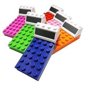 レゴブロック風の形が超カワイイ電卓