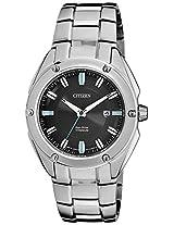 Citizen Eco-Drive Analog Black Dial Men's Watch BM7130-58E