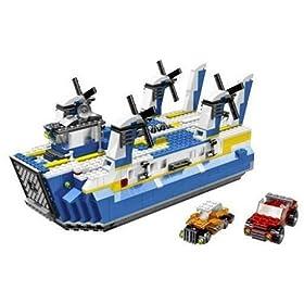 レゴで作った船