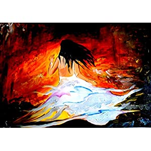 NUCreations Uncertainty - Original Painting - Oil Paint On Canvas