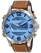 Fossil Nate Analog-Digital Teal Dial Men's Watch - JR1492I