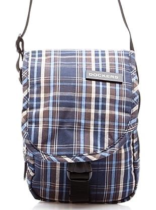 Dockers Bags Bandolera Pequeña Asimétrica (Azul)