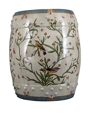 Oriental Danny Floral Stool