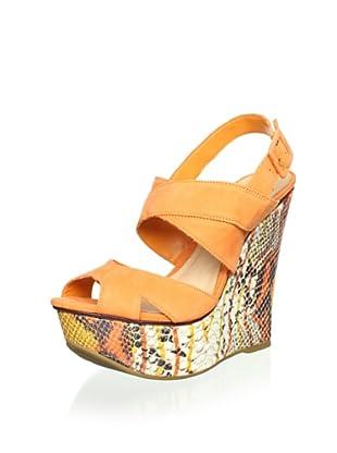 Schutz Women's Platform Wedge Sandal (Clementine)