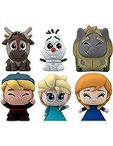 Disney's FROZEN Fash'ems - Complete Set of 6 Figures (Elsa, Anna, Olaf, Kristoff, Sven, Troll)