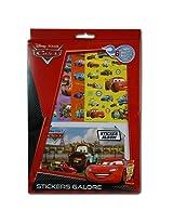 WeGlow International Disney Cars Sticker Sheet & Sticker Album Set (Set of 2)