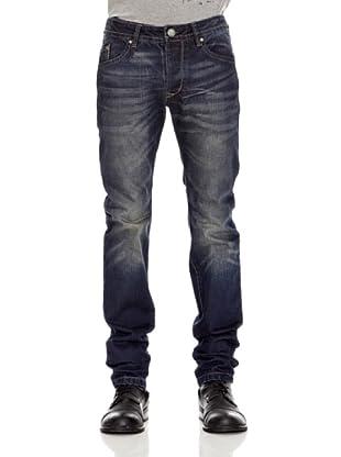 Desigual Pantalón Oftal (Azul Oscuro)