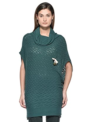 Kate Cut Maglia Kimono (Verde)