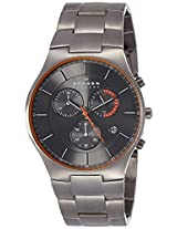 Skagen Analog Grey Dial Men's Watch - SKW6076I