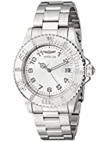 """Invicta Women's 15248 """"Pro Diver"""" Stainless Steel Dive Watch"""