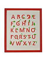 LEARN YOUR ABC's Printed Poster Wall Mounted
