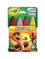 Crayola Build Your Box Desert Dawn Chalk (4 Count)