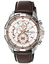 Casio Edifice Chronograph White Dial Men's Watch - EFR-539L-7AVUDF(EX221)