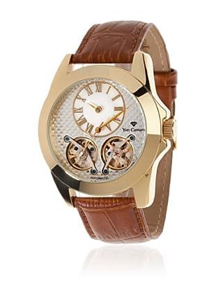 Yves Camani Reloj Balancier Automático Marrón / Oro