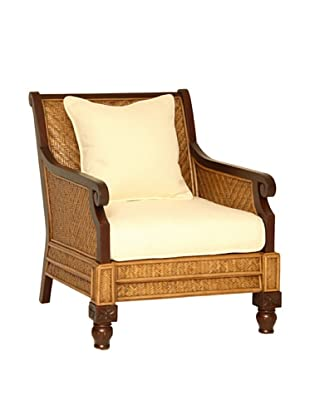 Padma's Plantation Trinidad Armchair, Antiqued Natural