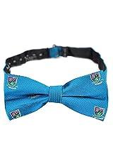 PenSee 100% Silk Mens Pre-tied Bow Tie Blue & Burgundy & Green Bow Ties