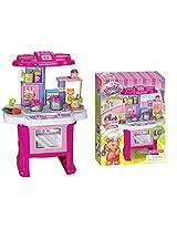 Toyhouse Kitchen Play Set, Pink