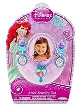Disney Princess Ariel Jewelry Set (Necklace & Earrings)