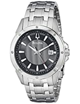 Bulova Classic Analog Grey Dial Men's Watch - 96B169