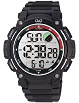 Q&Q Standard Dual Time Digital White Dial Men's Watch M119J004Y