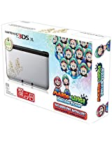 Nintendo 3DS XL Console Special Edition with Mario and Luigi Dream Team Pre-Installed (Silver & Black)