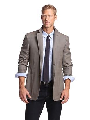 Canali Men's Twill Sport Coat (Tan)