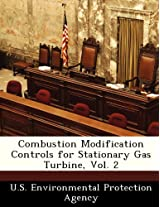 Combustion Modification Controls for Stationary Gas Turbine, Vol. 2