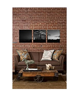 Penshaw Monument Panoramic Giclée Canvas Print Triptych