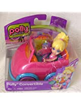 Mattel Polly Pocket Polly Convertible Doll and Car Pink