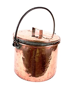 Vintage 19th Century Copper Pot