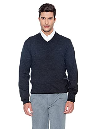 Dockers Jersey Cuello V (Gris oscuro)