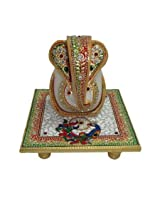 ArtZolo Generous Lord Ganesha Craft Original Art