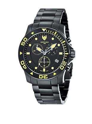 Swiss Eagle Reloj Cronógrafo Dive Negro