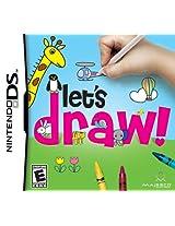 Let's Draw (Nintendo DS) (NTSC)