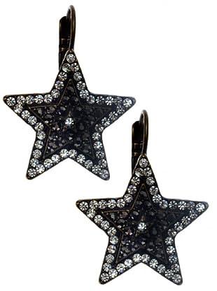 Lola Casademunt Pendientes Estrellas Brillantes