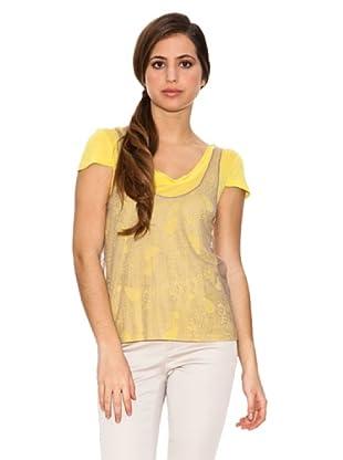 Jota + Ge Camiseta Nelson (Amarillo)