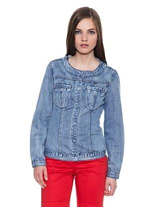 Carrera Jeans Cazadora Giubbino Denim (Azul)