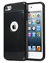 ULAK 339907 2-in-1 Protective Case for Apple iPod Touch 5 6th Generation (Black)