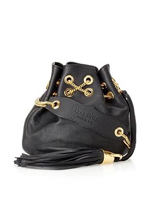 Lena Erziak Teal/gold Snakeskin Shoulder Bag | LePrix
