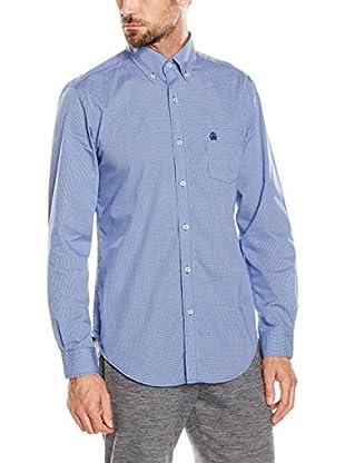 Cortefiel Camisa Hombre Awatti Microvichy Liso T