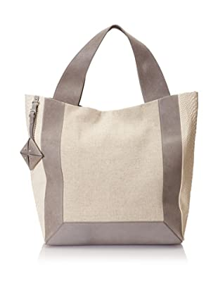 Allibelle Women's Linen Market Tote (Linen/Shadow)