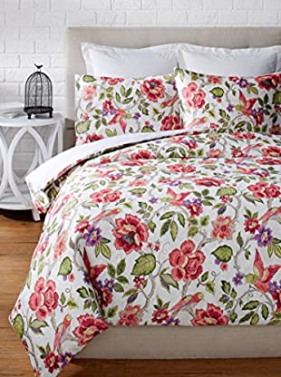 Colorfly by Belle Masion Tess Duvet Set