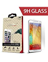 iCarez for Samsung Galaxy Note 3 [ Tempered Glass ] Highest Quality Premium Anti-Scratch Bubble-free Reduce Fingerprint Screen Protector Easy Install Product with Lifetime Replacement Warranty [1-Pack,0.33mm 2.5D Rounded Ed
