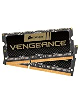 Corsair CMSX16GX3M2A1600C10 Vengeance 16GB Laptop Memory Upgrade Kit (Black)
