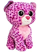 Ty Beanie Boos Buddies Glamour Pink Leopard Large Plush