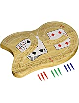 "29"" Large Cribbage Board with 3 Tracks"