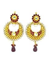 Orne Jewels Ethnic Polki Earrings